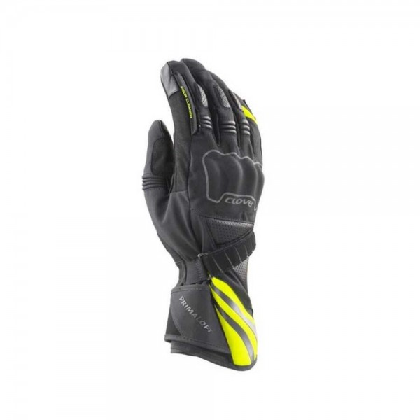 GUANTES CLOVER SIERRA WP NEGRO/AMARILLO