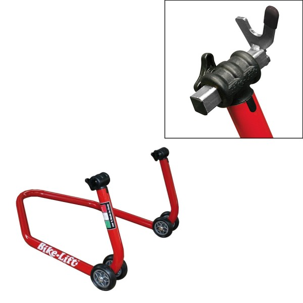 CABALLETE BIKE-LIFT TRASERO REGULABLE EN V PARA DIABOLOS