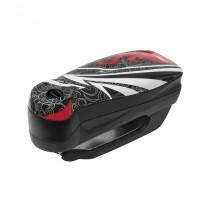 ANTIRROBO DISCO-ALARMA ABUS DETECTO 7000 RS1 FLAME BLACK