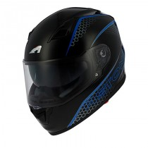 CASCO ASTONE GT900 PULSE NEGRO-AZUL