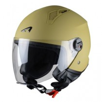 CASCO ASTONE MINI-JET MONOCOLOR MARRON-DESERT