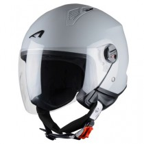 CASCO ASTONE MINI-JET MONOCOLOR GRIS-CLARO