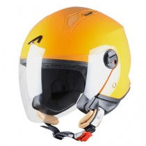CASCO ASTONE MINI-JET MONOCOLOR NARANJA-ORANGE