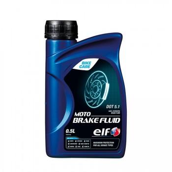 LIQUIDO DE FRENOS ELF MOTO  DOT 5.1 0,5 L