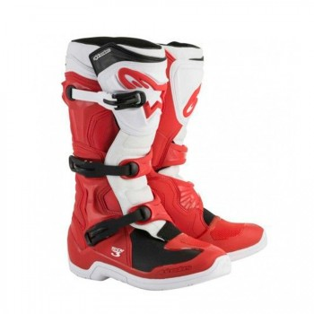BOTAS ALPINESTARS TECH 3 RED/WHI